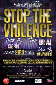 Eargasm Entertainment Presents: The Stop the Violence Tour