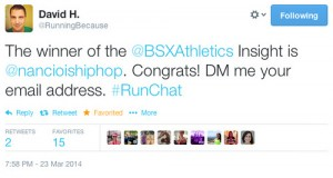 #RapOnThe Run & BSX Athletics
